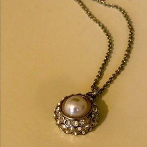 White House Black Market Faux Pearl Necklace